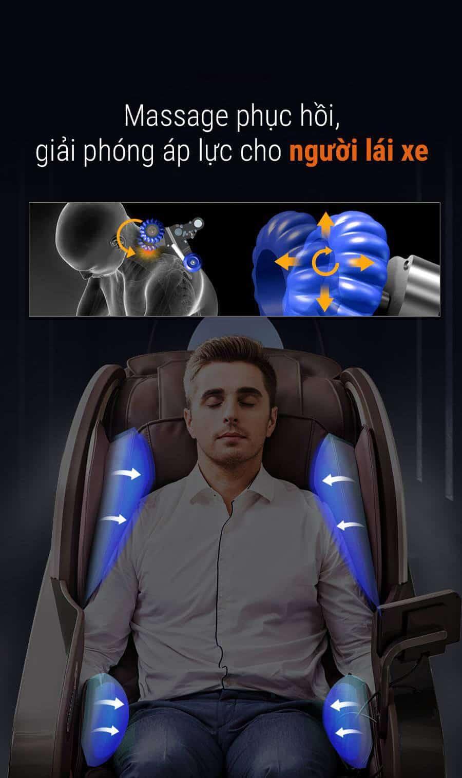 Ghế Massage Luxury Chair OS9000