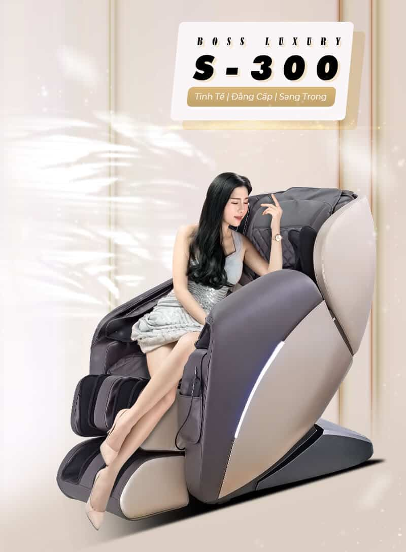 Ghế Massage Boss Luxury S300