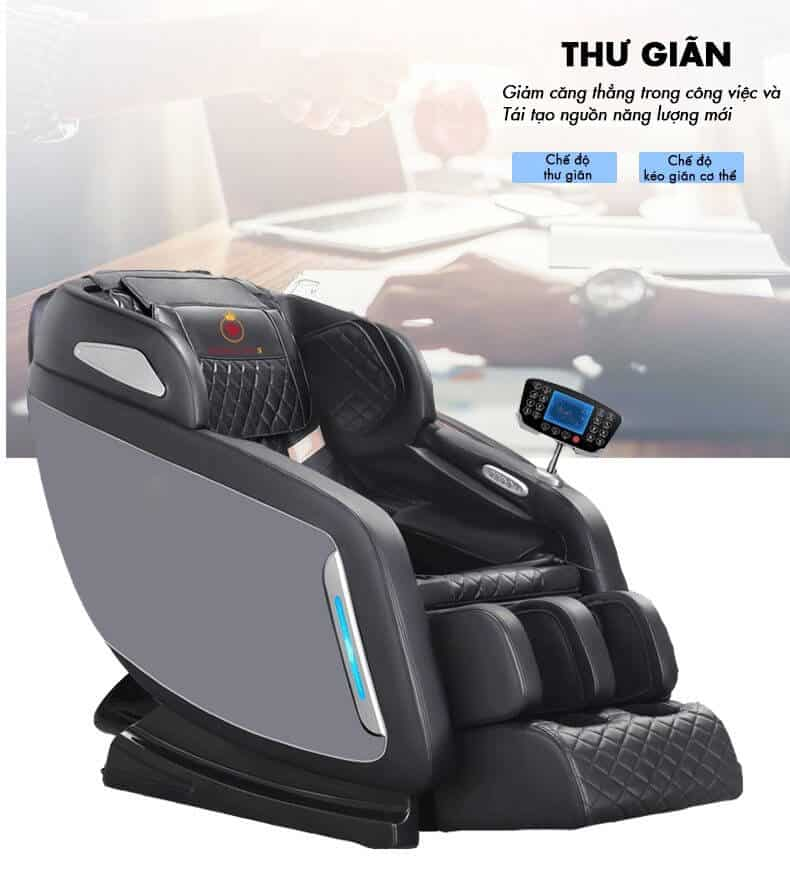 Ghế Massage Ruby Luxury RB-988 PLUS